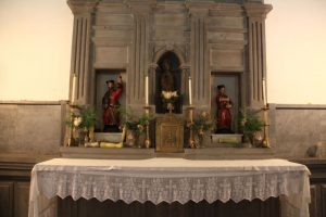 Altar Santuario Mártires Valdecuna (Fot. Víctor M. Fernández Salinas)