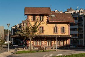 Antigua estación del Vasco - Mieres (Fot:  Ana Belén Rodríguez - AF Semeya)