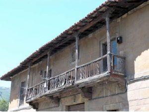 Balcón Palacio Cachero Riosa