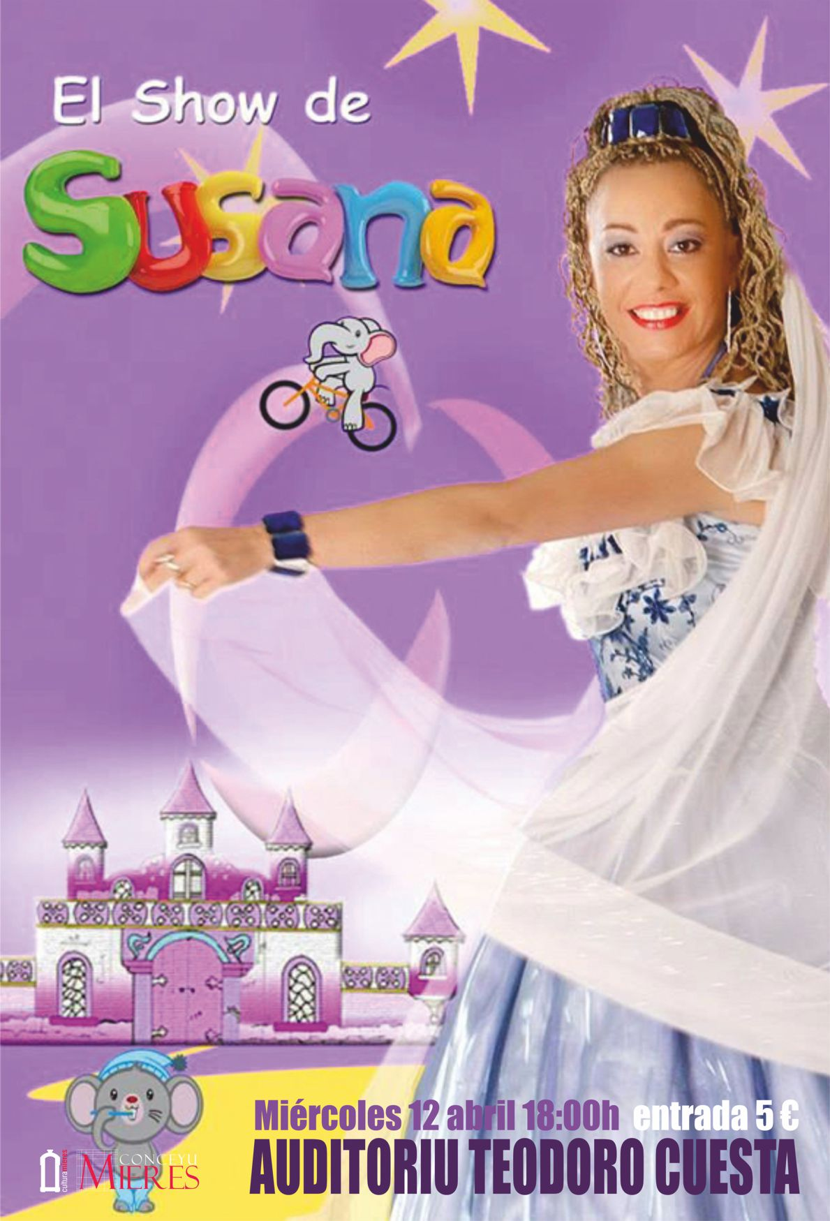 Cartel Show de Susana Mieres