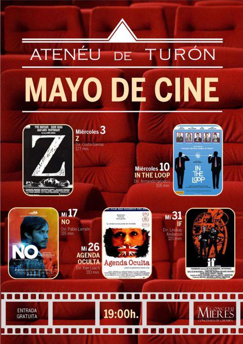 Cartel web Cine Turón 201705