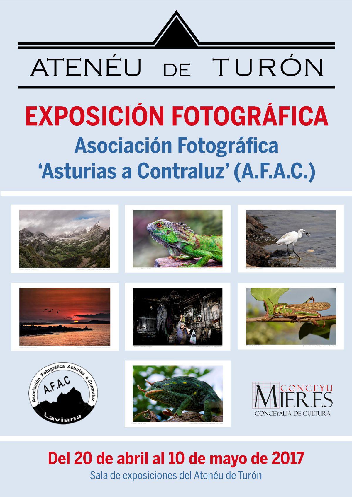 Cartel web exposicion fotografica AFAC