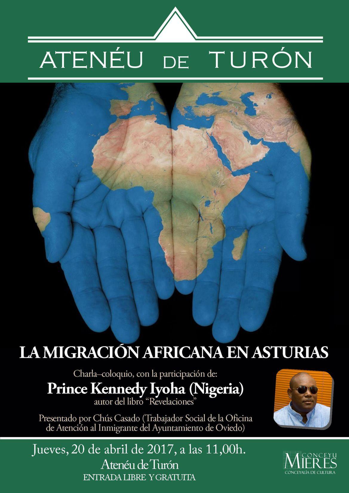 Cartel web migracion africana Turon