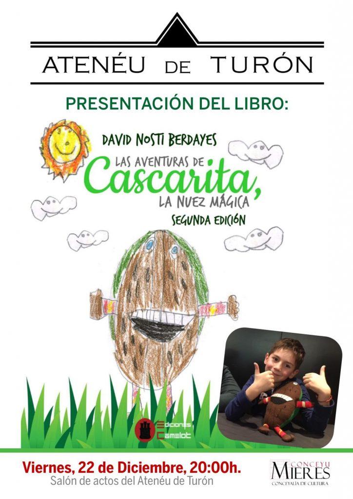 Cartel web presentacion libro cascarita