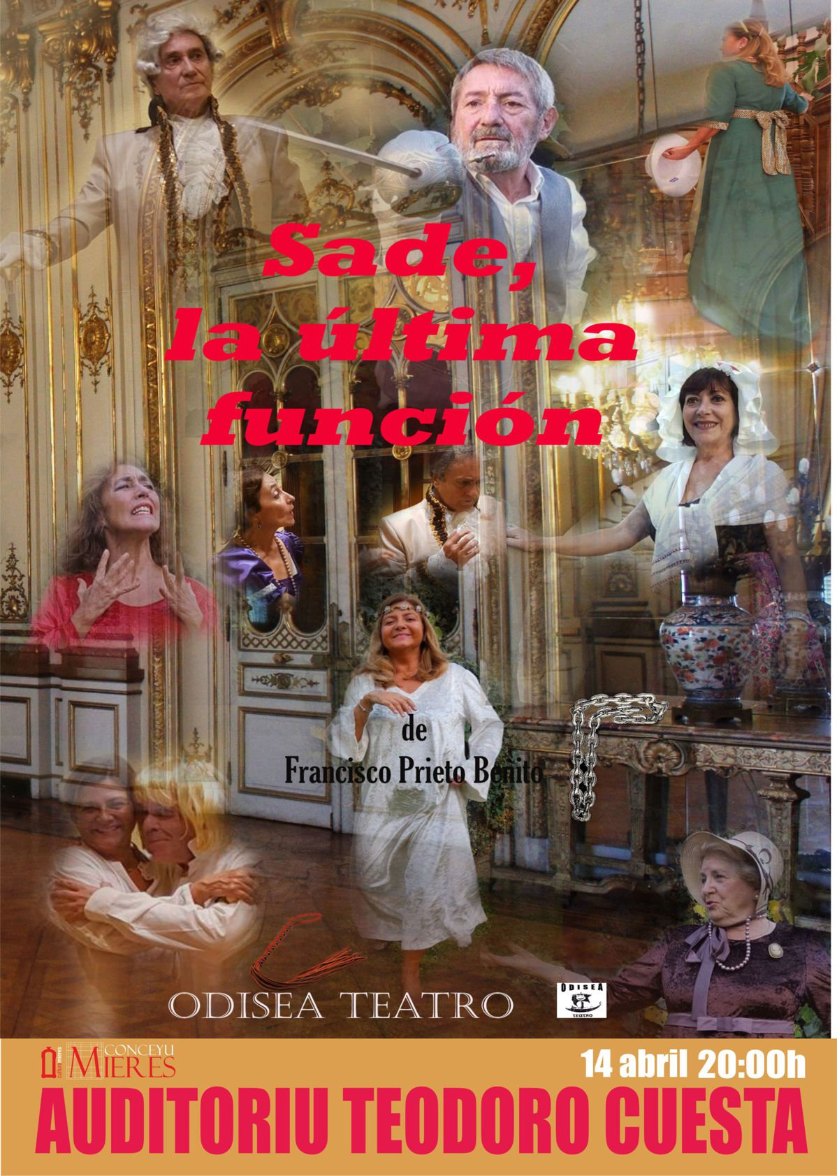 Cartel web teatro sade ultima funcion
