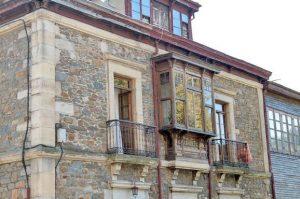 Detalle Balcón Casa Natal Aniceto Sela