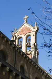Espadaña Iglesia de San Claudio de Bustiello (Fot. J. Vazquez - AF Semeya)