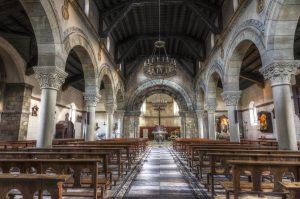 Interior Iglesia de Santa Eulalia (Fot. Yolanda Suárez - AF Semeya)