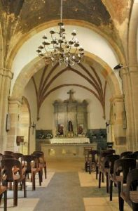 Interior Santurario Mártires Valdecuna