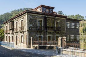 Lateral Casa Natal Aniceto Sela (Fot. J. Vázquez - AF Semeya)