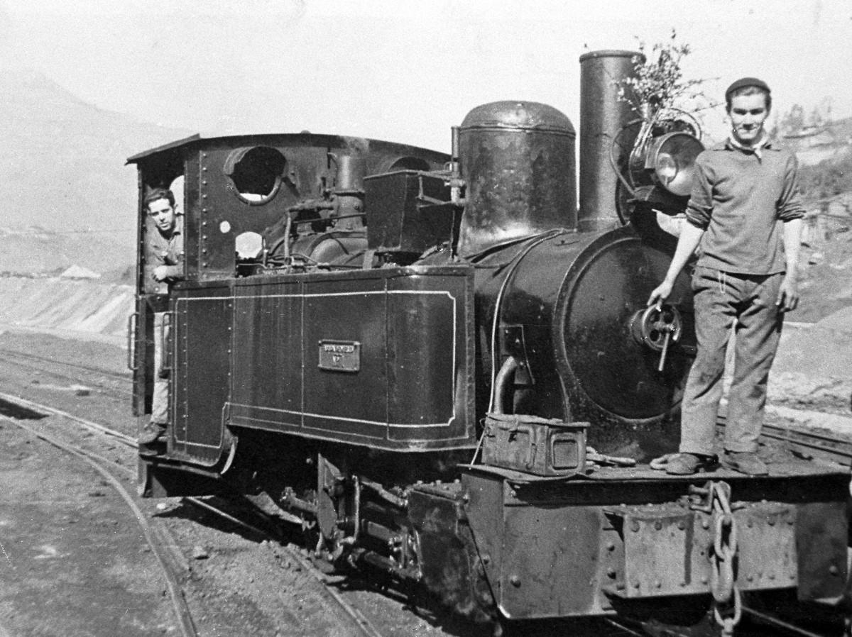 Locomotora de Vapor FM102 - Barrio de Oñon (Museo del Ferrocarril de Asturias)