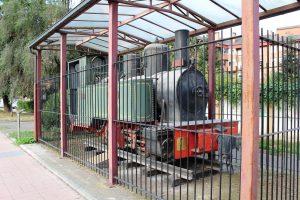 Locomotora de vapor FM 102 - Jardines de Juan XXIII, Oñón