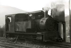 Locomotora de vapor SHE11 (Fot: Ferran Llaurado - Museo del Ferrocarril)