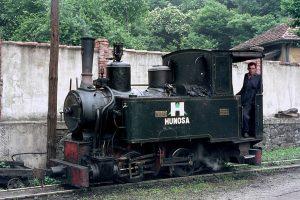 Locomotora de vapor Turon 3 - La Cuadriella (Fot: Herbert Schambach - Museo del Ferrocarril de Asturias)
