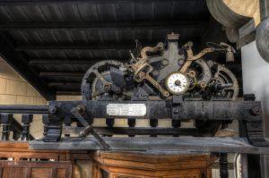 Maquinaria Reloj Iglesia de Santa Eulalia (Fot. Yolanda Suárez - AF Semeya)