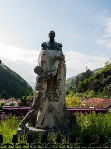 Monumento Marques de Comillas - Bustiello (Fot: Carlos Salvo - AF Semeya)