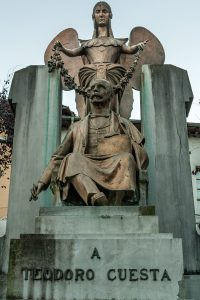 Monumento a Teodoro Cuesta (Fot. Ana Belén Rodríguez - AF Semeya)