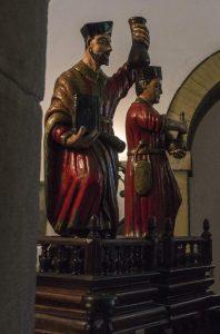 San Cosme y San Damián Santuario Mártires Valdecuna - Insierto (Fot. Yolanda Suárez - AF Semeya)