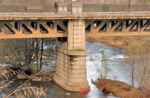 Soportes del Puente de La Perra