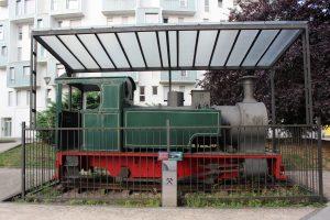 Vista Locomotora de vapor SHE 11 - La Mayacina
