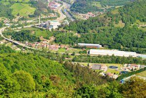 Vista a La Pereda (Fot.: Asoc. Cultural Los Averinos).