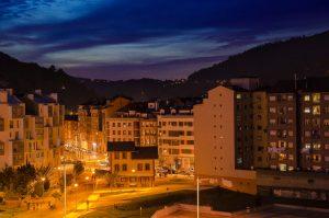 Vista a la estación del vasco - Mieres (Fot: Yolanda Suarez - AF Semeya)