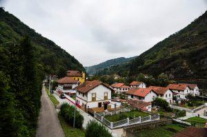 Vista del Poblado de Bustiello (Fot: Yolanda Suarez - AF Semeya)