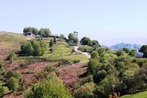 Vistas desde el Miraor Entrepicos del área recreativa La Teyerona.