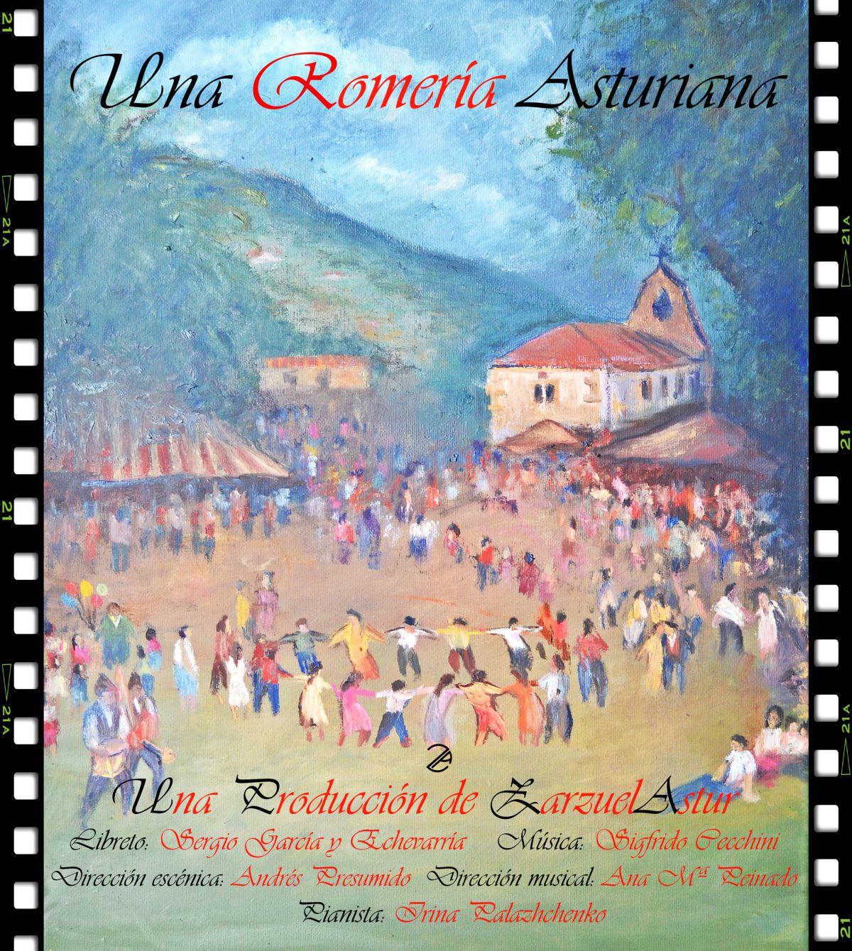 cartel Romería-en-Mieres zarzuelastur