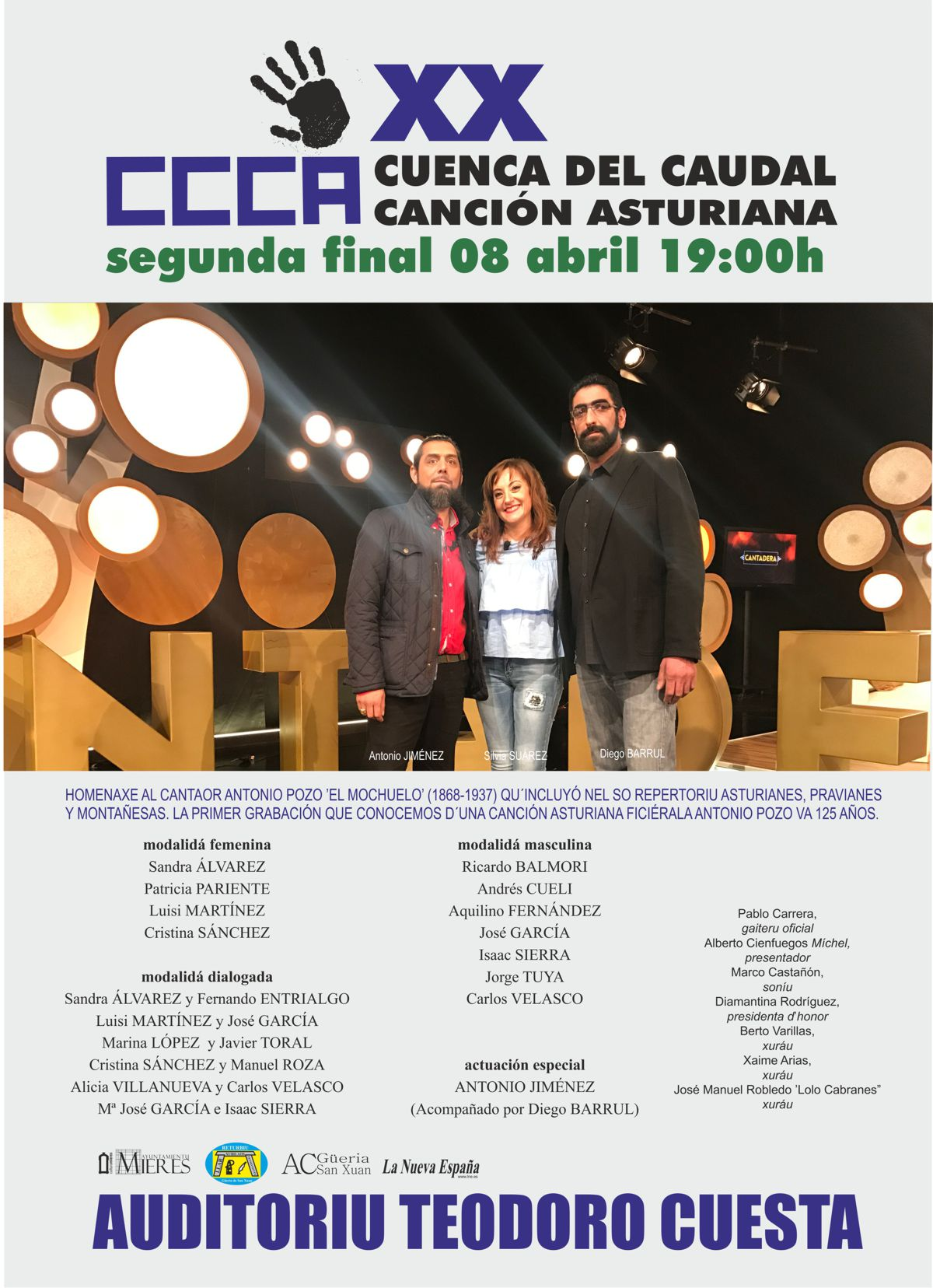 cartel web segunda final XX Concursu Cuenca Caudal