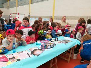 Actividades infantiles con población escolar de colegios La Salle y Santa Eulalia
