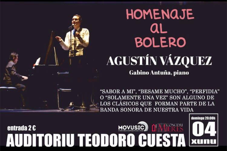 Agustin Vazquez-Homenaje al Bolero