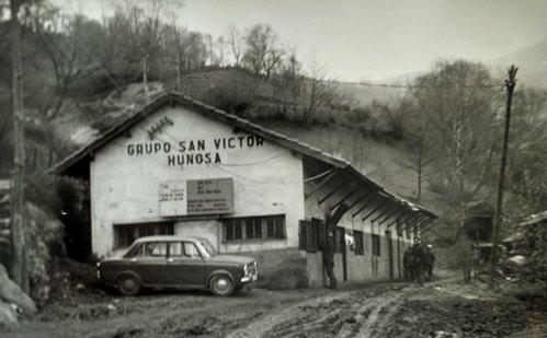 Antigua mina San Victor