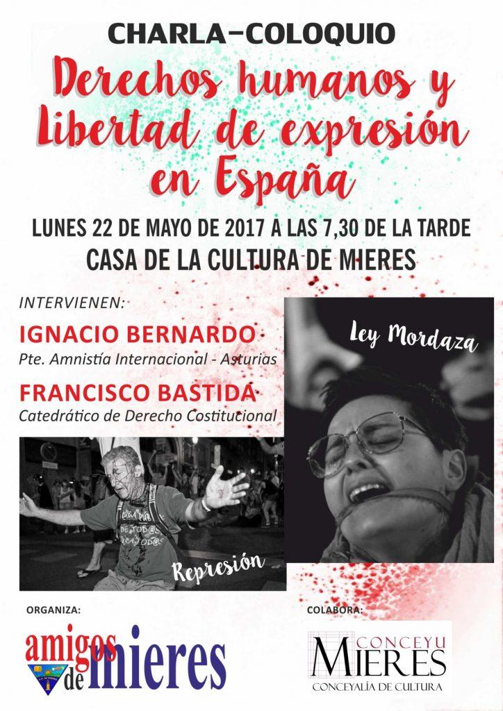 Charla-Coloquio Derechos humanos y libertad de expresión en España