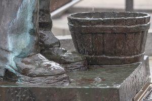Detalle Escanciador de sidra (Fot. Kasis - AF Semeya)
