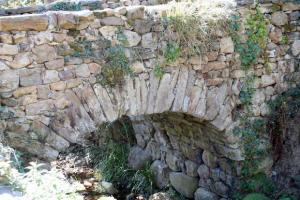 Detalle puente del Palacio d´Arriba - Cenera