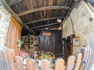 Entrada Casa Colás - Cenera, Gal.legos (Fot: Carlos Salvo - AF Semeya)