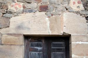 Inscripción Casa de los Martínez Vega
