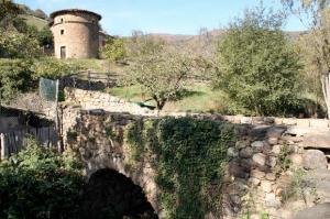 Palomar y Puente del Palacio d´Arriba - Cenera