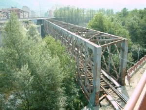 Puente de la FEVE - Mieres