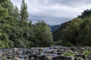 Río Aller en Bustiello (Fot.: Vero -AF Semeya).