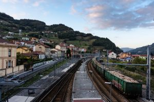 Vista a la Estación de Renfe - Uxo (Fot: Yolanda Suarez - AF Semeya)
