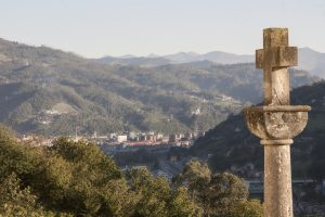 Vista de Mieres del Camín desde La Rebollá (Fot. Mónica - AF Semeya)
