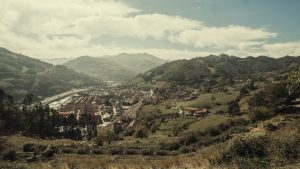 Vistas de Uxo desde Villar (Fot.: Albino -AF Semeya).