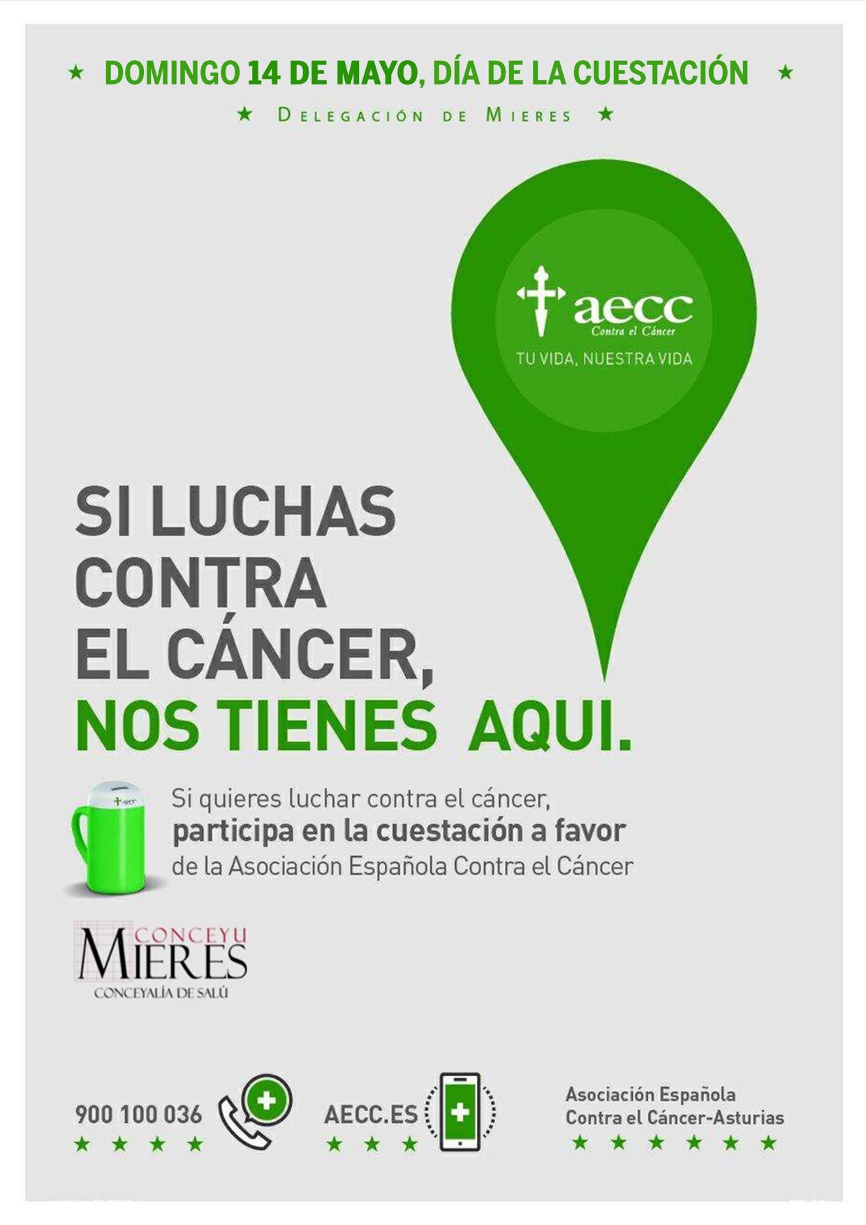 cartel WEB cuestacion cancer 2017 Mieres
