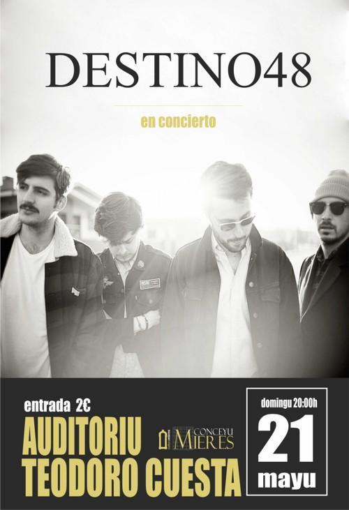 cartel web Concierto Destino 48