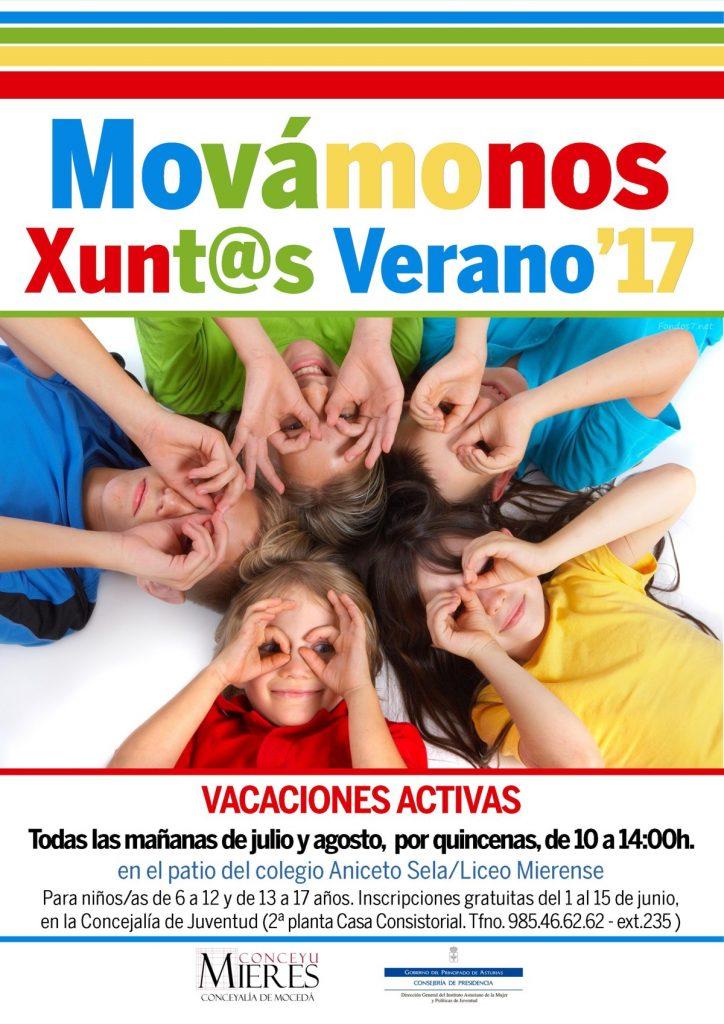 cartel web Movamonos Xuntos verano 2017-Mieres
