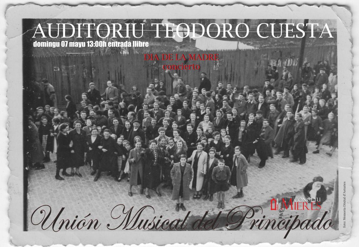 cartel web concierto dia de la madre Union musical principado