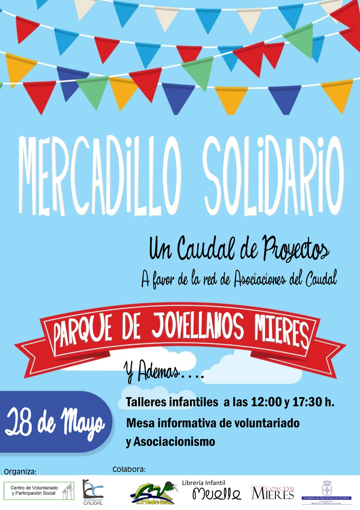 cartel web mercadillo solidario 2017