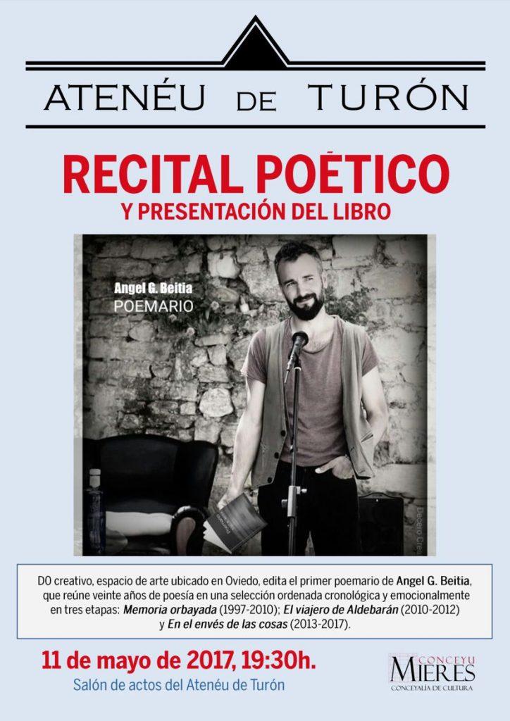 cartel web recital poético Angel Beitia